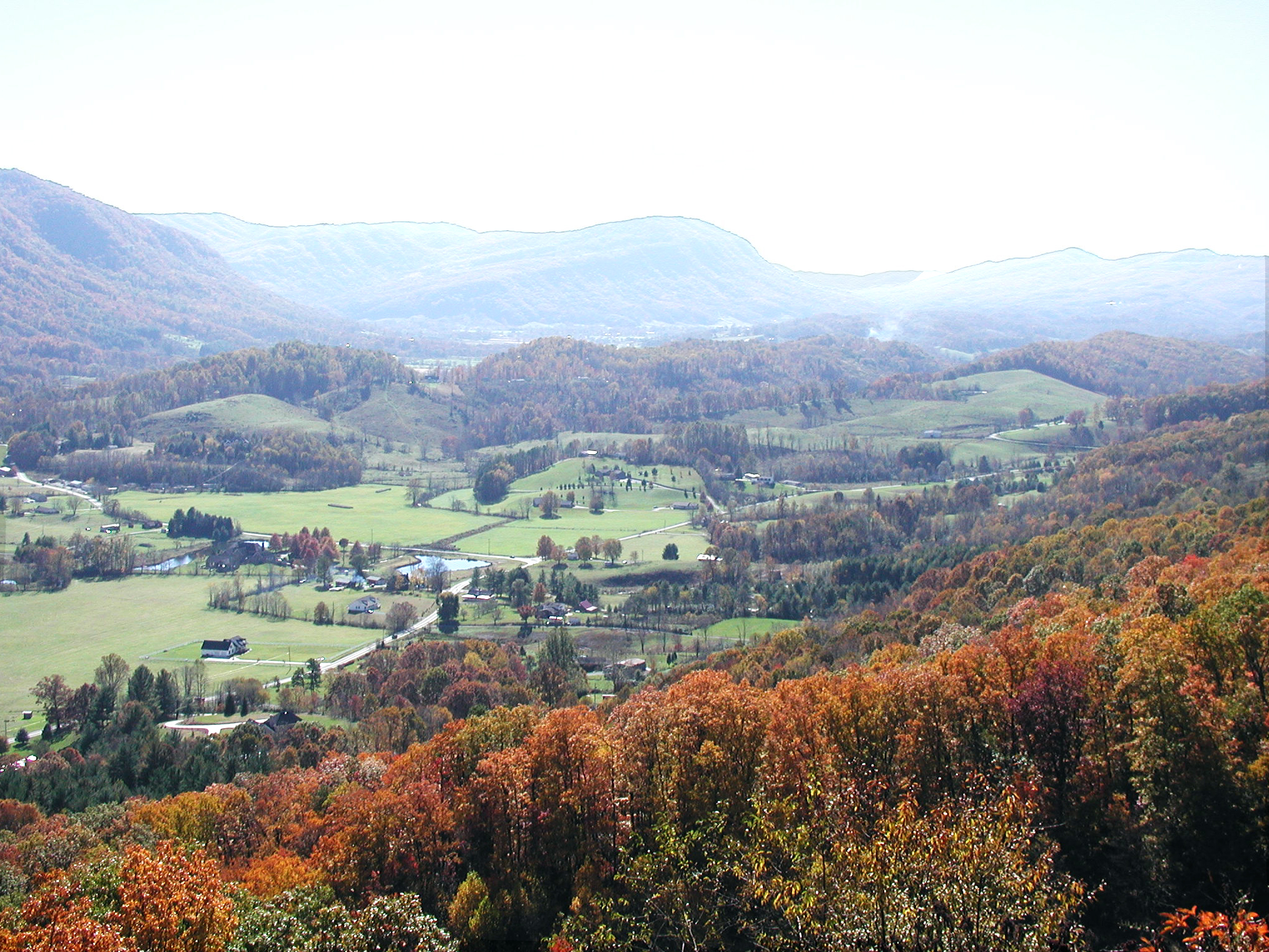 Powell Valley Overlook Near Big Stone Gap, VA