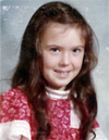 Tracie at age 7